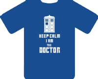 KEEP CALM DOCTOR - INSPIRED BY DAVID TENNANT DR.WHO